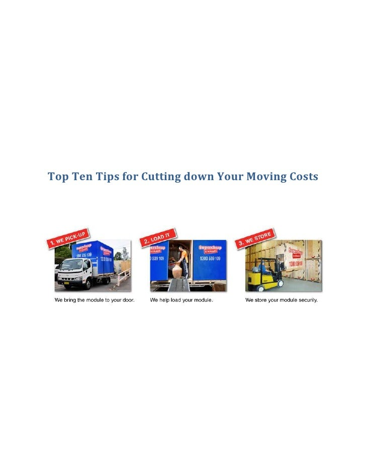 Top Ten Tips for Cutting down Your Moving Costs<br />Unless you live gypsy-style, acquiring only as many possessions as yo...