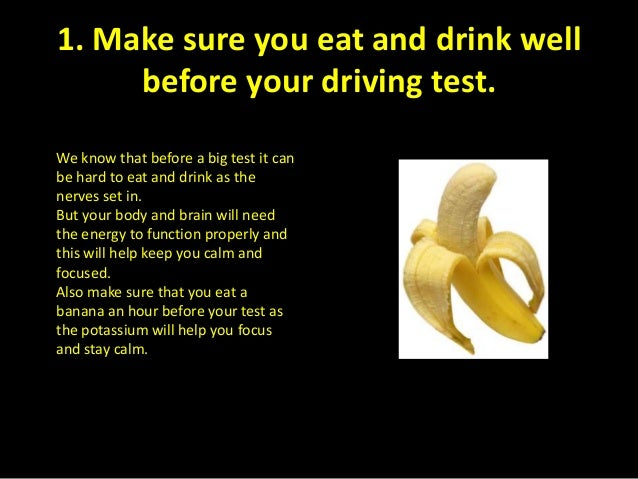 what do i need to know for drivers test