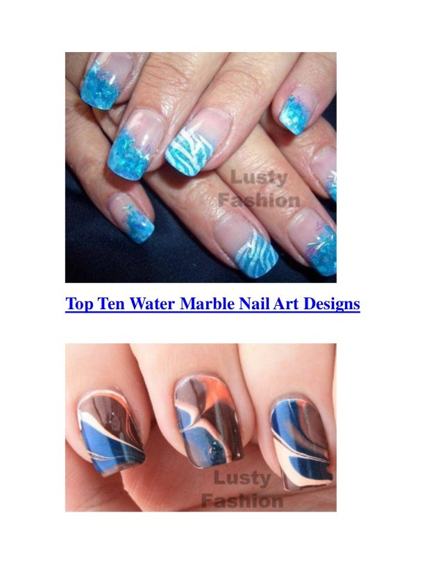 Top Ten Sparring Gloves In Red Used By World Champions: Top Ten Water Marble Nail Art Designs