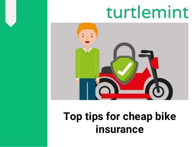 How to get cheap bike insurance