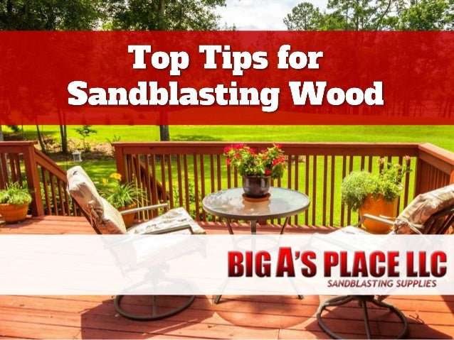 Sandblasting is used on wood for resurfacing, smoothing, or shaping. It is also used to remove unwanted finishes, such as ...