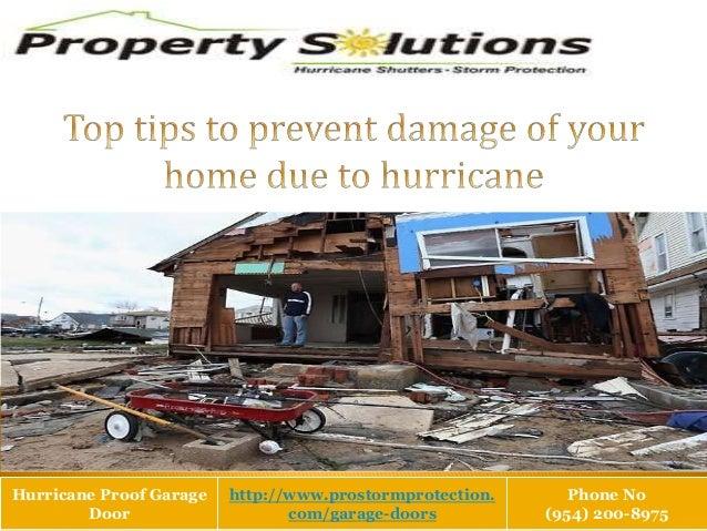 Hurricane Proof Garage Door http://www.prostormprotection. com/garage-doors Phone No (954) 200-8975