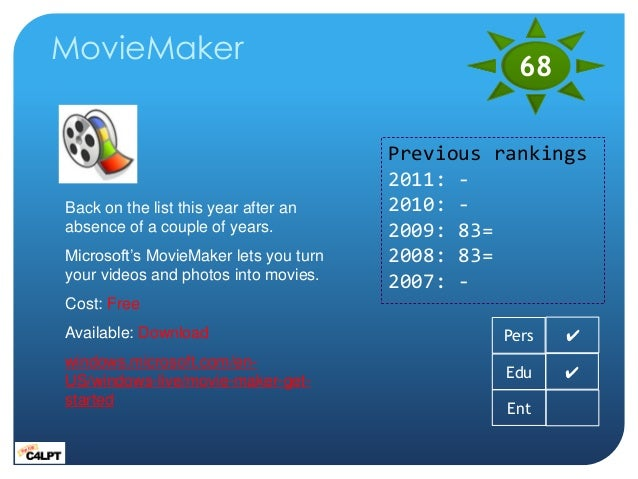 How to create a wmv video with windows live movie maker.