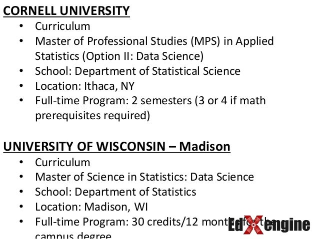 TOP UNIVERSITIES IN US FOR MS IN DATA SCIENCE
