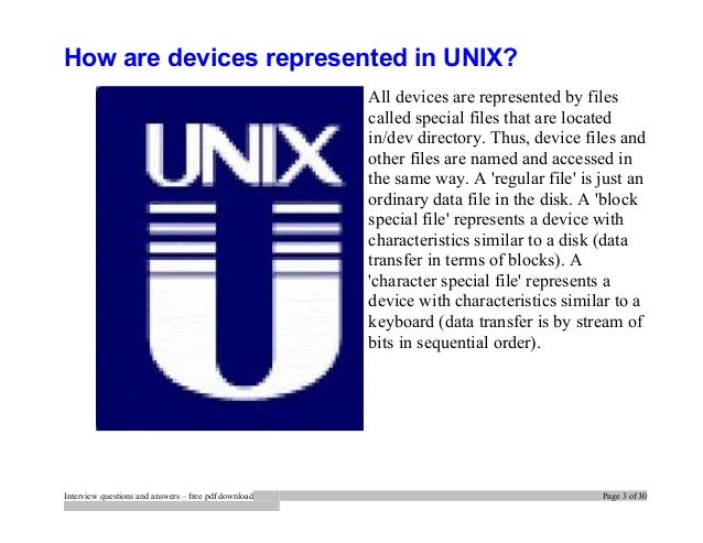 unix commands interview questions and answers pdf