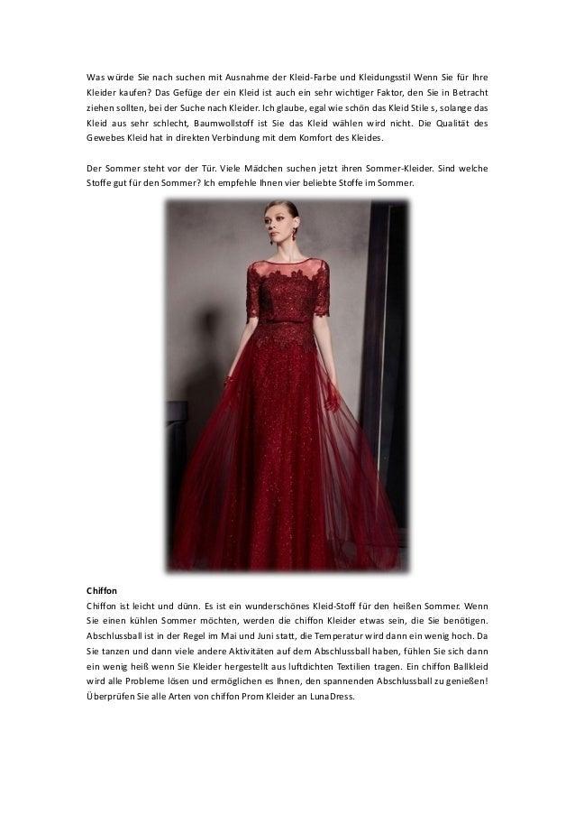 Was würde Sie nach suchen mit Ausnahme der Kleid-Farbe und Kleidungsstil Wenn Sie für Ihre Kleider kaufen? Das Gefüge der ...
