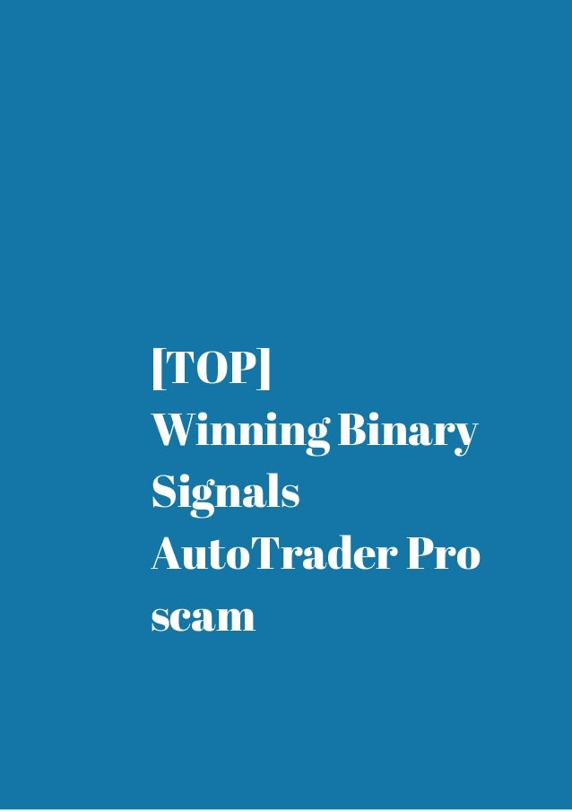 What is the best binary auto trader