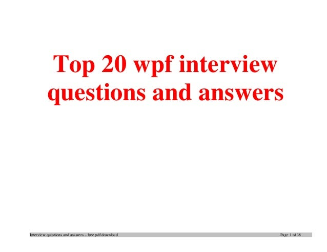 Learn Wpf In 24 Hours Pdf