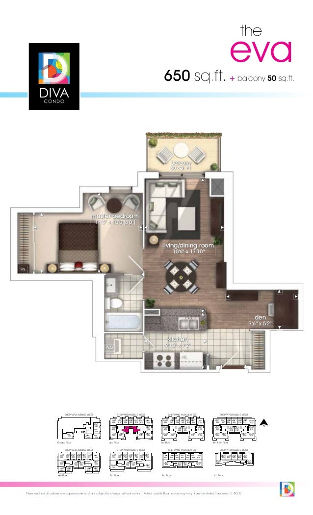 Diva Condos North York Diva Condo Floor Plans Toronto
