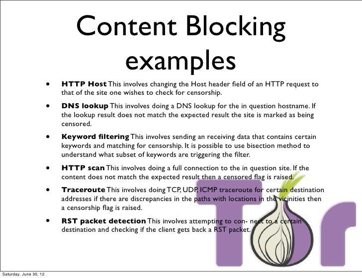 Tor Censorship 2012 Ooni