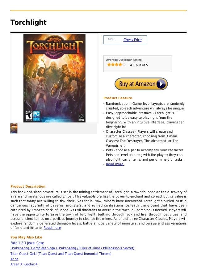 Torchlight                                                                Price :                                         ...