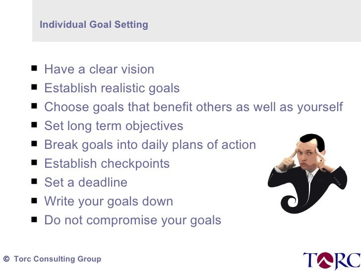 """checkpoint goal setting 2 break these two long-term goals into several short-term goals that you hope to accomplish within a relatively short time (""""i will learn how to use my company."""
