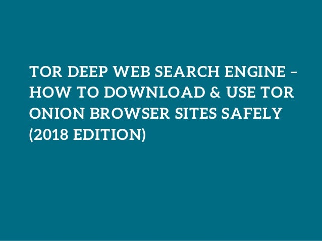 By Photo Congress || How To Access The Deep Web 2018