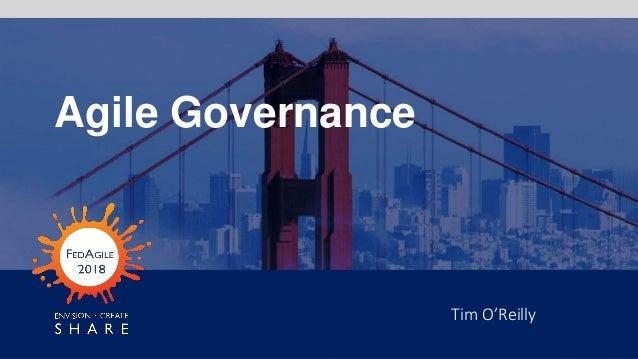 Tim O'Reilly Agile Governance