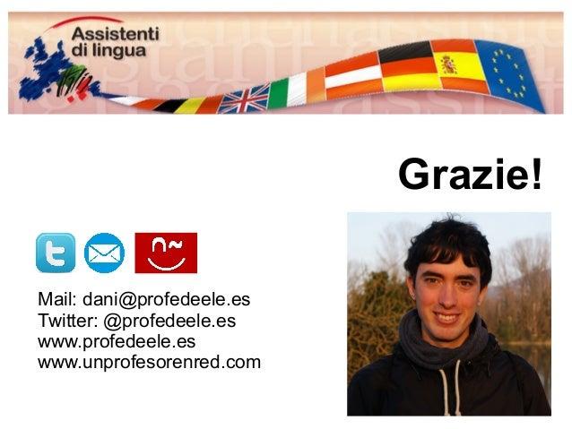 Mi presentación a los asistentes de lengua de Italia del 2014-15