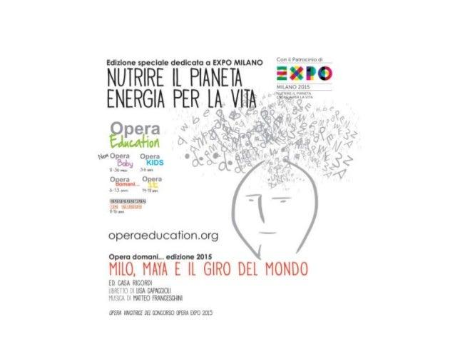 Opera Education - Barbara Minghetti, Presidente As.Li.Co.