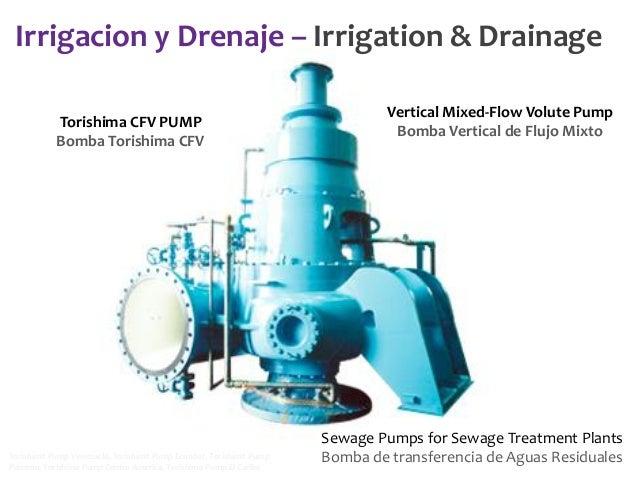Irrigacion y Drenaje – Irrigation & Drainage Torishima CFV PUMP Bomba Torishima CFV  Torishima Pump Venezuela, Torishima P...