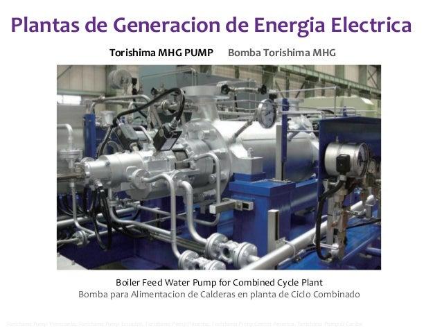 Plantas de Generacion de Energia Electrica Torishima MHG PUMP  Bomba Torishima MHG  Boiler Feed Water Pump for Combined Cy...