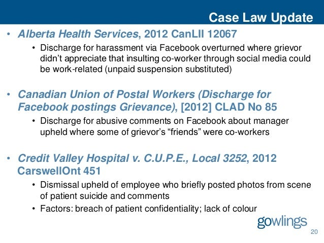the use of social media to alert employers about the posts of co workers Politics in the workplace: what must employers allow  soliciting co-workers or customers to support  limits employees' access to and use of social media,.