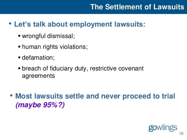 Employment And Labour Law Seminar May 5 2015