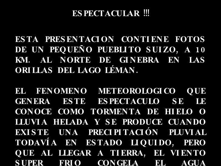 ESPECTACULAR !!! ESTA PRESENTACION CONTIENE FOTOS DE UN PEQUEÑO PUEBLITO SUIZO, A 10 KM. AL NORTE DE GINEBRA EN LAS ORILLA...