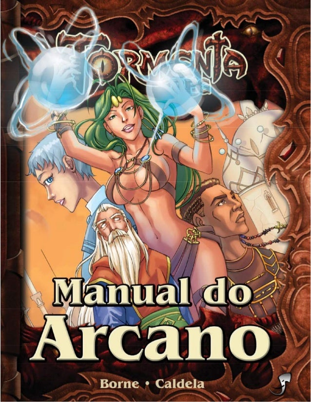 Lucas Borne Leonel Caldela Manual do Arcano 11