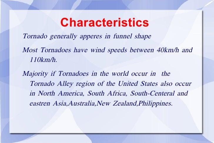 Tornado intensity