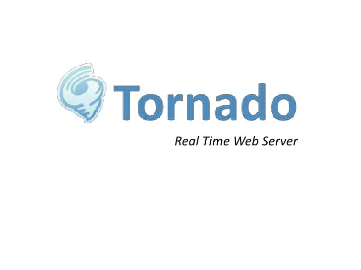 Real Time Web Server<br />