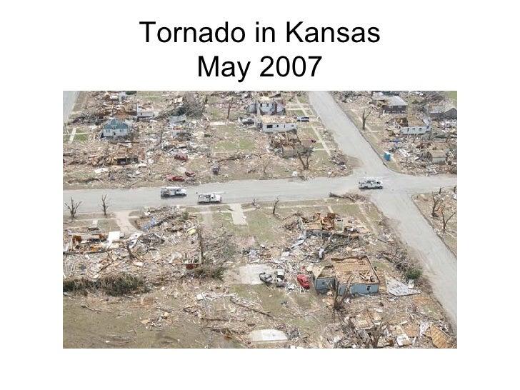 Tornado in Kansas May 2007
