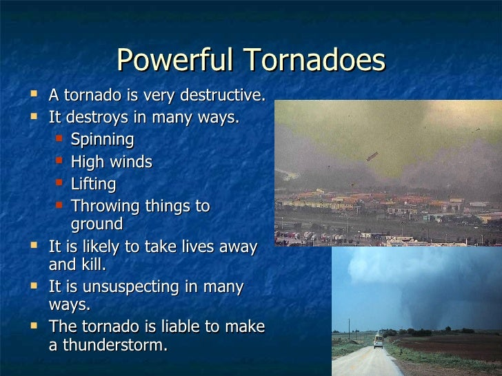 the types of tornadoes There are not six distinct types of tornado, however, there are sixintensity levels in the united states and canada, tornadoes arerated on the.