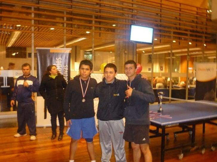 Torneo tenis de mesa duoc uc 2011 - Torneo tenis de mesa ...