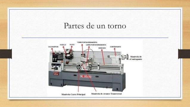 Partes de un torno y sus funciones for Partes de un vivero forestal
