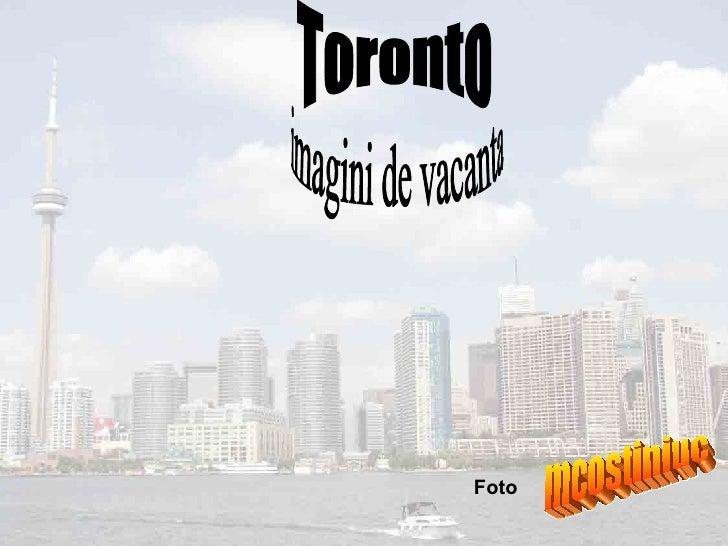Toronto imagini de vacanta Foto  mcostiniuc
