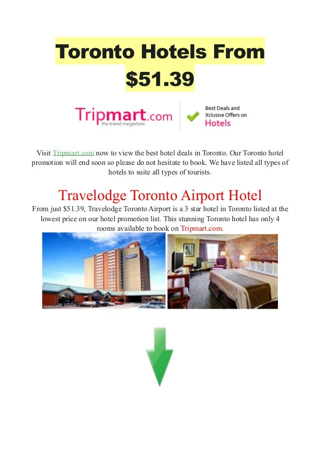 Best Cheapest Hotels In Toronto