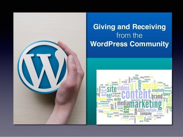 WordPress.com Example Reader Option