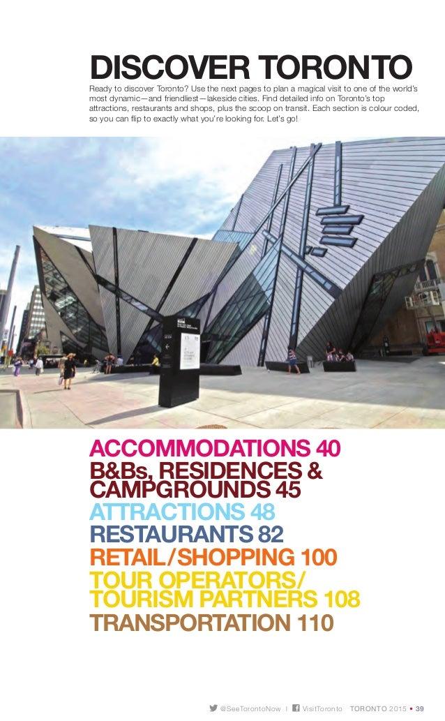... 38.  sc 1 st  SlideShare & Toronto visitor-guide-2015