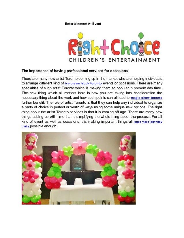 Caricature Artist Balloons Toronto Princess Birthday Party