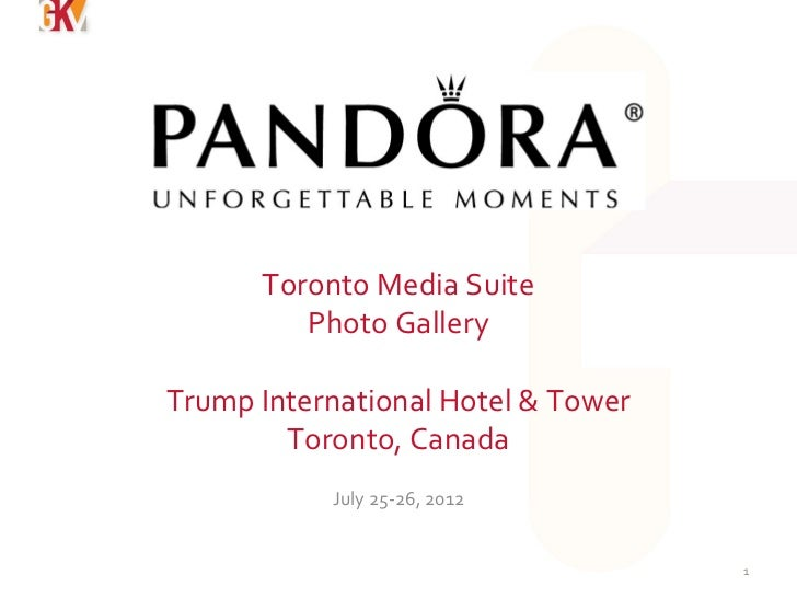 Toronto Media Suite         Photo GalleryTrump International Hotel & Tower        Toronto, Canada           July 25-26, 20...