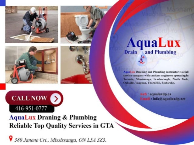Toronto Plumber Specialists Aqualuxdp