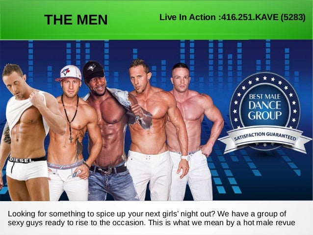 Male strippers live