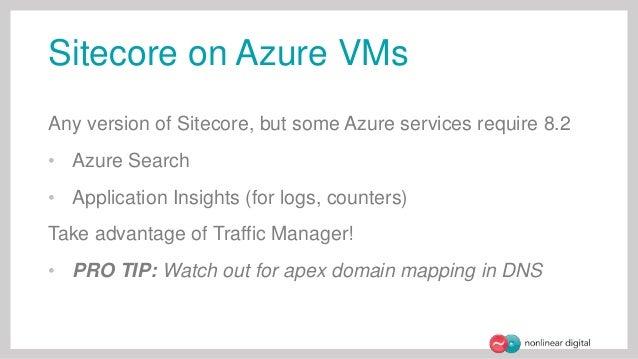 Sitecore on Azure