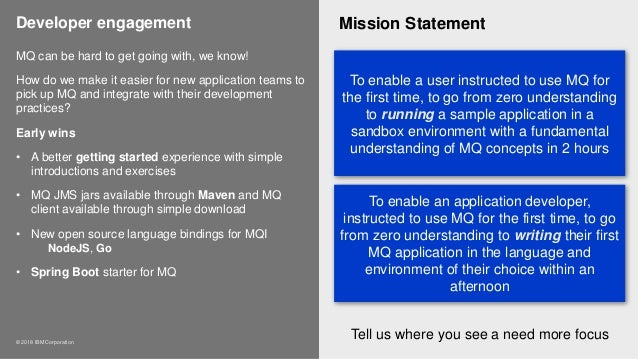 ibm mission statement