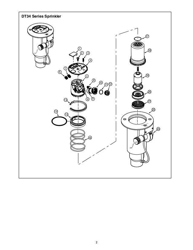 sportsturf irrigation toro parts breakdown rh slideshare net irrigation valve parts diagram Orbit Sprinkler Parts Diagram