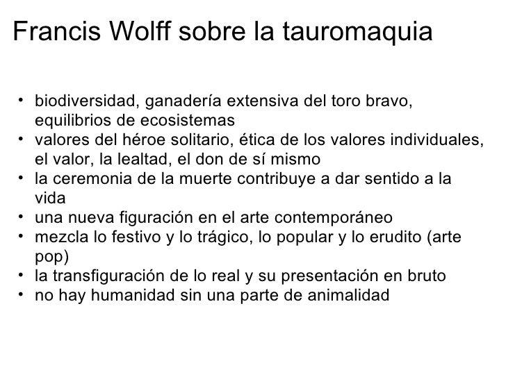 El arte taurómaco quot;El toreo es probablemente la riqueza poética y vital de España, increíblemente desaprovechada por l...