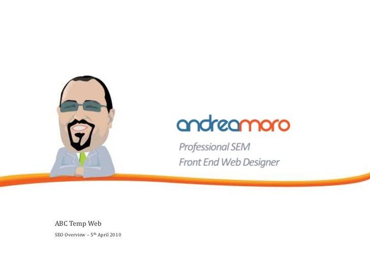 Web Site SEO Analysis