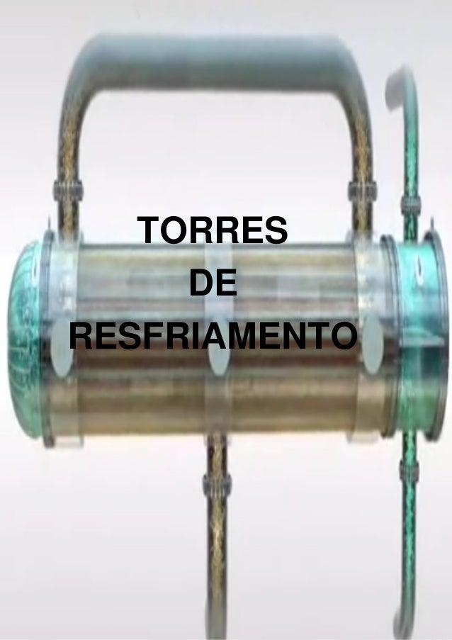 TORRES DE RESFRIAMENTO