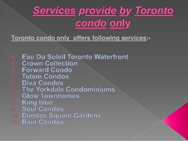 Toronto condo assignments for sale