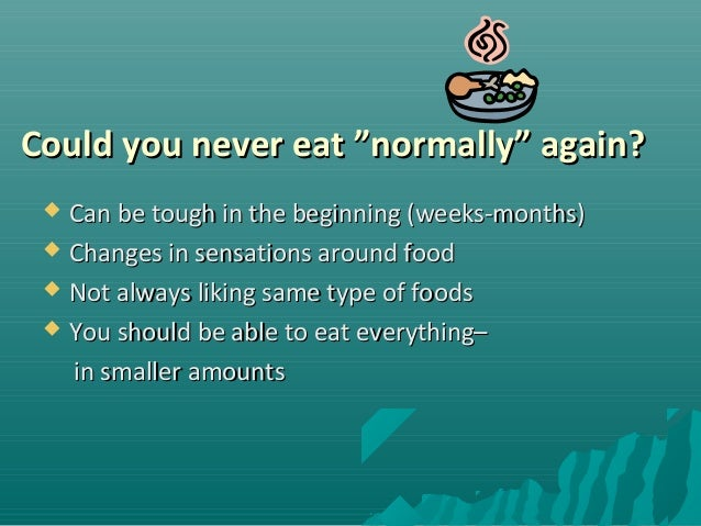 Foods You Can Never Eat Again After Gastric Bypass