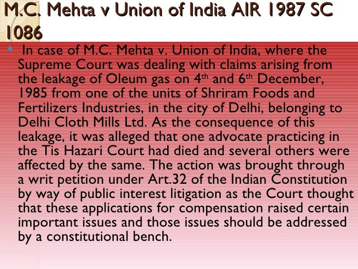 Supreme Court Judgments & case laws in India