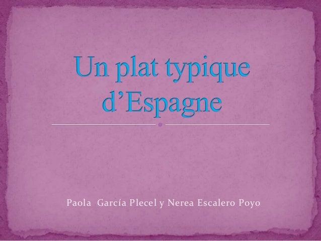 Paola García Plecel y Nerea Escalero Poyo